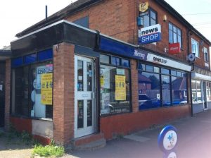 NEWSAGENTS + ACCOMM. – Leicester suburb.