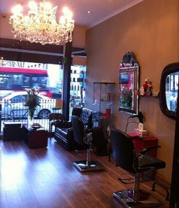 Boutique salon in Maida Vale, London