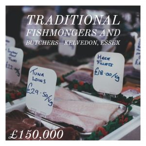 Traditional fishmongers and butchers – Kelvedon, Essex