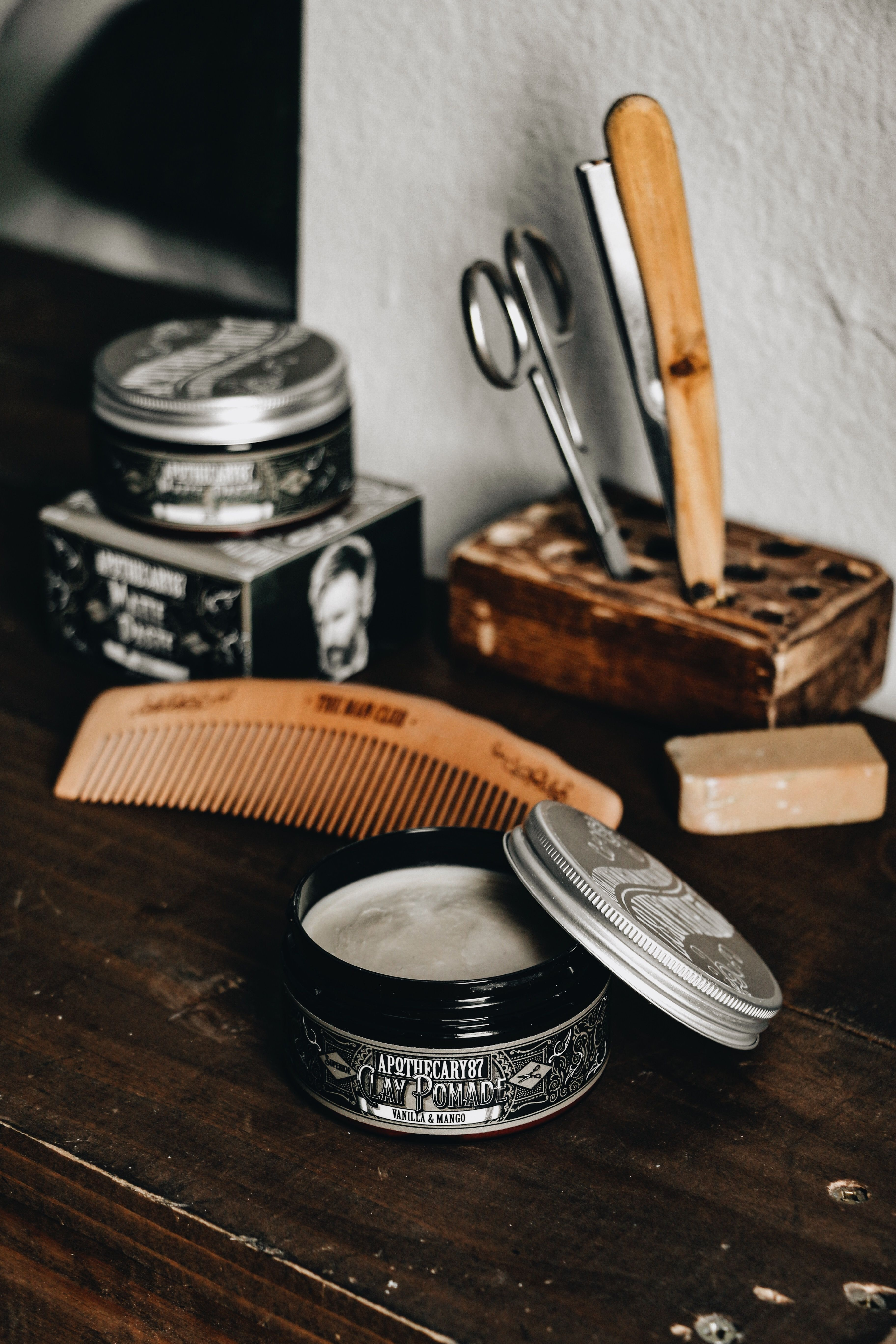 Male Grooming Salon in a vibrant district of London